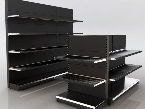 Compro arredamento negozio usato milano scaffalature for Scaffalature ikea