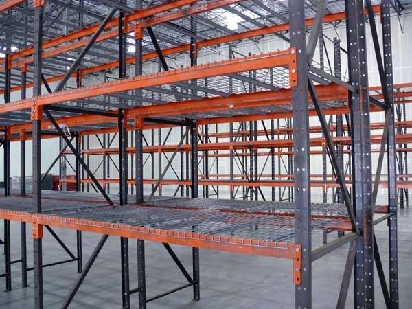 Scaffalature industriali leggere – realizzazione costruzione installazione scaffali piani ...